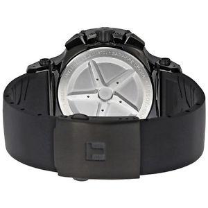 腕時計 ウォッチティソレースクロノグラフクォーツブラックスポーツメンズウォッチ