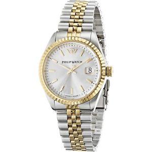 【送料無料】腕時計 ウォッチオロロジィリップカリブウォッチスイスビコウォッチorologio philip watch caribe r8253107010 uomo watch swiss dorato bicolore oro