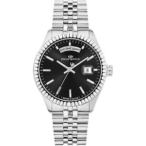 【送料無料】腕時計 ウォッチオロロジィリップカリブウォッチウォッチスイスジュビリーorologio philip watch caribe r8253597033 nero watch swiss made jubilee 39mm uomo