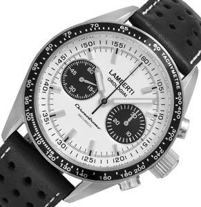 【送料無料】腕時計 ウォッチメッカニコlambertiorologiai mod 50508 bz  chronodromo  ottimo meccanico