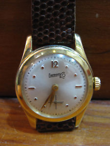 【送料無料】腕時計 ウォッチオロロジオオロマニュアルウォッチ*eberhard* orologio polso in oro 18ktcarica manuale 1960 watch gold working