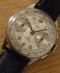 【送料無料】腕時計 ウォッチヴィンテージクロノグラフスイス1940s vintage chronograph wrist watch union special de luxe swiss venus 188