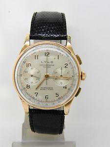 【送料無料】腕時計 ウォッチkヴィーナスビンテージクロノchronographe suisse lylo en or 18k mouvement venus 188 vintage chrono