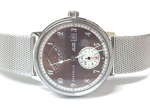 【送料無料】腕時計 ウォッチツェッペリンヒンデンブルククロノグラフ¥zeppelin lz129 hindenburg chronograph 7060m5 rrp 439