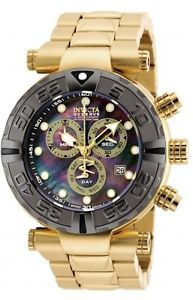 【送料無料】腕時計 ウォッチメンズリザーブスイスクロノグラフゴールドトーンウォッチ mens invicta 90240 reserve subaqua noma swiss chronograph gold tone watch