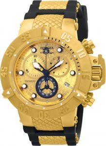 【送料無料】腕時計 ウォッチメンズスイスクロノグラフポリウレタンウォッチ mens invicta 15802 subaqua noma iv swiss chronograph polyurethane watch