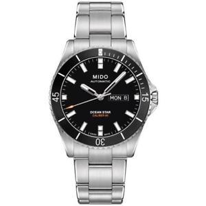 【送料無料】腕時計 ウォッチキャプテンメンズアナログウォッチmido mens ocean star captain 425mm automatic analog watch m0264301105100