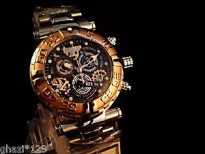 腕時計 ウォッチメンズリザーブスイスクロノベゼルウォッチinvicta mens reserve subaqua noma swiss chrono limited edition gp bezel watch