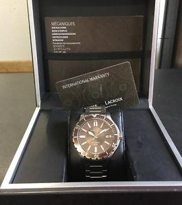 【送料無料】腕時計 ウォッチモーリスロアメンズダイバーウォッチmaurice lacroix mens diver watch automatic