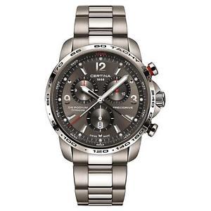 【送料無料】腕時計 ウォッチメンズチタニウムブレスレットウォッチcertina mens ds podium 44mm titanium bracelet quartz watch c0016474408700
