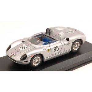 【送料無料】模型車 モデルカー スポーツカーフェラーリリタイヤボブグロスマンferrari 330 p n95 dnf usrrc bridgehampton 1966 bob grossman 143 car va