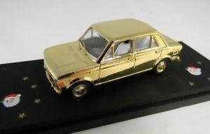 【送料無料】模型車 モデルカー スポーツカーフィアットゴールドクリスマスモデルjm 2125337 miniminiera rom01 fiat 128 gold limited edition christmas model