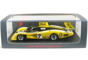 【送料無料】模型車 モデルカー スポーツカールマンタンrenaultalpine a442 7 lemans 1977 ptambay j pjaussaud