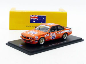 【送料無料】模型車 モデルカー スポーツカースパークspark 143 bmw 635 csi bathurst 1985 as016