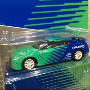 春夏新作 【送料無料】模型車 モデルカー スポーツカーファルコラボレーションfs limited 164 tarmac works nissan gtr falken color green light collaboration, Free Line(フリーライン) 56da7ee6