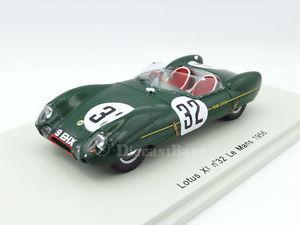 【ご予約品】 【送料無料】模型車 モデルカー スポーツカースパークルマンエンジニアリングレースカーロータスspark s2183 143 lotus xi 24 hours of le mans 1956 engineering lm resin race car, アート静美洞 b994d5ce