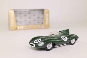 【送料無料】模型車 モデルカー スポーツカージャガータイプルマンマイクホーソーンbrumm r147; jaguar d type; 1955 le mans winner, mike hawthorn; excellent boxed