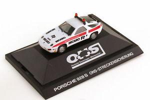 【送料無料】模型車 モデルカー スポーツカーポルシェ187 porsche 928 s4 ons safety white herpa 3510