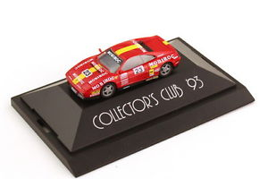 【送料無料】模型車 モデルカー スポーツカーフェラーリコレクターズクラブ187 ferrari 348tb mobiroc nr23 collector´s club 1993 herpa 166348