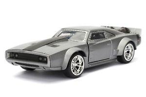 【送料無料】模型車 モデルカー スポーツカーチャーモデルコレクタ#グレーシリーズfast furious charger model ice grey by dom 132 collector039;s series jada