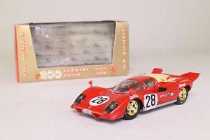 【送料無料】模型車 モデルカー スポーツカーフェラーリデイトナbrumm r200; 1970 ferrari 512; 1970 24h daytona 3rd; rn28, excellent boxed