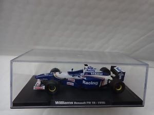 【送料無料】模型車 モデルカー スポーツカーボックスアトラスエディションウィリアムズルノーデイモンヒルboxed rba atlas editions 143 williams renault fw 18 damon hill 1996 f1 car