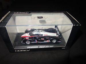 【送料無料】模型車 モデルカー スポーツカースケールモデルカープジョールマンnorev 143 scale model car 472719 peugeot 908 le mans 2007 boxed