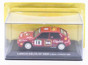 【送料無料】模型車 モデルカー スポーツカーネットワークランチアデルタラリーポルトガルポルトixo altaya lancia delta hf 4wd rallye portugal vinho do porto 1988 9th place