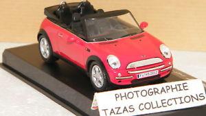 【送料無料】模型車 モデルカー スポーツカーミニクーパーカブリオレデクヴェルトmini cooper cabriolet decouverte red oliex 143