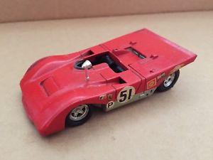 【送料無料】模型車 モデルカー スポーツカーソリッドフェラーリヴィンテージsolid ferrari 312 pb perfect, vintage very good shape
