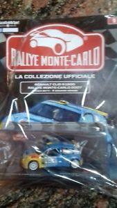 【送料無料】模型車 モデルカー スポーツカーモンテカルロラリールノークリオスケールrallye monte carlo output 9 renault clio s 1600 2007 143 scale