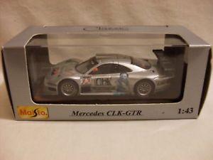 【送料無料】模型車 モデルカー スポーツカーメルセデスレーシングバージョンスケールmaisto mercedes clkgtr racing version 143 scale boxed