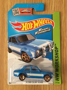 【送料無料】模型車 モデルカー スポーツカーホットホイールエスコートhot wheels fast amp; furious escort rs1600