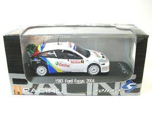【送料無料】模型車 モデルカー スポーツカーフォードフォーカスモンテカルロラリーford focus 7 monte carlo rally 2004