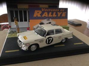 【送料無料】模型車 モデルカー スポーツカープジョーラリーカーpeugeot 404 143 rally cars