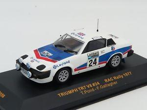【送料無料】模型車 モデルカー スポーツカーネットワークモデル#ラリーixo models rac056 triumph tr7 v8 24 rac rally 1977 143