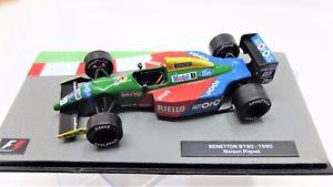 【送料無料】模型車 モデルカー スポーツカーモデルカーベネトンフォーミュラダイカストサムネールmodel car benetton b190 143 formula 1 one f1 diecast thumbnails