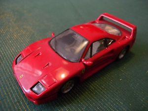 【送料無料】模型車 モデルカー スポーツカーフェラーリホイールスケールtranskit burago ferrari f40 with wheels robustelli 143 scale