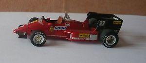【送料無料】模型車 モデルカー スポーツカーイタリアスクーデリアフェラーリフォーミュラbrumm italy 143 scuderia ferrari 126 c4 f1 alboreto 1984 no 27 formula 1