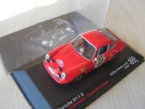 【送料無料】模型車 モデルカー スポーツカーポルシェセリエラリーcar 143 th porsche 911 s rally 1969 serie 14