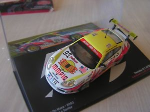【送料無料】模型車 モデルカー スポーツカーポルシェグアテマララリーセリエcar 143 th porsche 911 gt rally 2003 serie 14