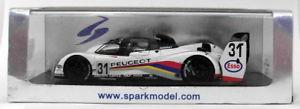 【送料無料】模型車 モデルカー スポーツカースパークモデルスケールプジョー#ルマンspark models 143 scale s2596 peugeot 905 ev1 bis 31 le mans 1992