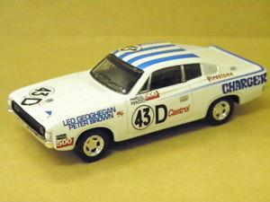 【送料無料】模型車 モデルカー スポーツカーチャージャーバサーストトラックス143 charger bathurst 1971 lgeoghegan 43d trax tr11g