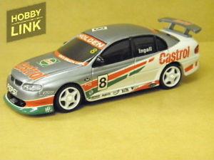 【送料無料】模型車 モデルカー スポーツカーラッセルシグネチャーシリーズツーリング143 russell ingall castrol 2000 signature series touring car carlectables 43025