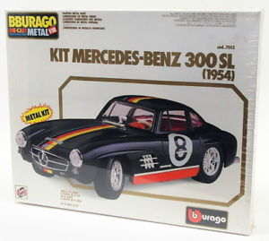 【送料無料】模型車 モデルカー スポーツカースケールモデルカーキットメルセデスベンツburago 118 scale model car kit 7013 1954 mercedes benz 300 sl sealed