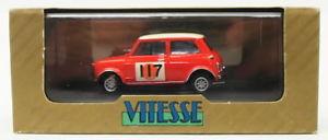 【送料無料】模型車 モデルカー スポーツカースケールオースティンモーリスミニクーパーラリーvitesse 143 scale vr13 austin morris mini cooper 117 1966 rac rally conversion