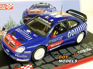 【送料無料】模型車 モデルカー スポーツカーシトロエンクサラスケールモデルラリーカーローブエレナcitroen xsara wrc 143 scale model rally car 2006 loeb elena