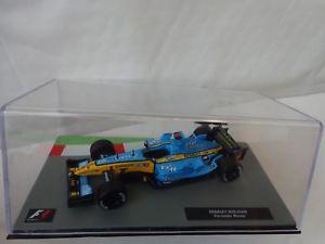 【送料無料】模型車 モデルカー スポーツカーフォーミュラカーコレクションルノーフェルナンドアロンソ#143 f1 formula 1 car collection renault r25 fernando alonso 2005 car 9