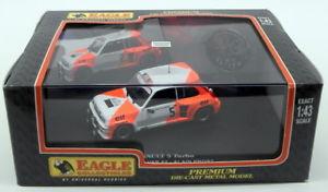 【送料無料】模型車 モデルカー スポーツカーワシスケールモデルカールノーターボラリーアランプロストeagle 143 scale model car 1716 renault 5 turbo rallye var 82 alain prost
