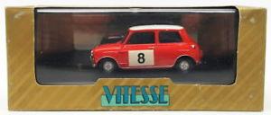 【送料無料】模型車 モデルカー スポーツカースケールオースティンモーリスミニクーパーラリーvitesse 143 scale vr15 austin morris mini cooper 8 1965 rac rally conversion
